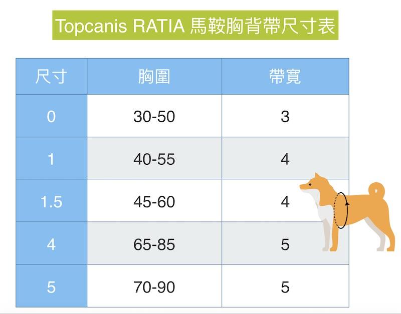 Topcanis RATIA 快套式胸背帶