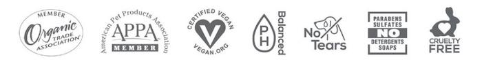 Aroma Paws 寵物芳療品牌 純天然植物配方,安全無毒 中性 pH值,溫和不刺激 不流淚配方 環境友善,生物可分解 無動物實驗