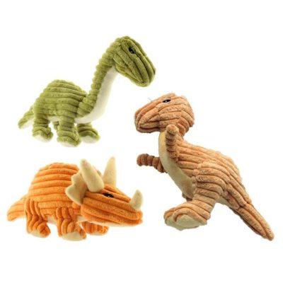 PetSport 恐龍絨布發聲玩具