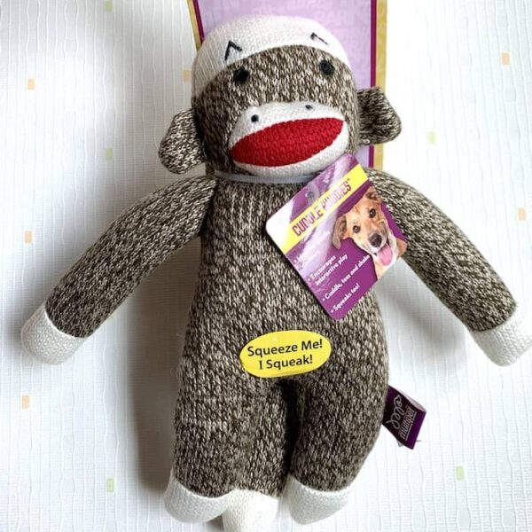 Multipet 襪子猴玩具