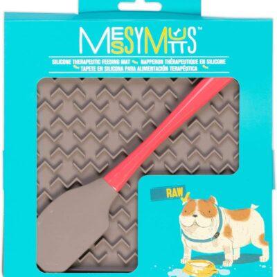 Messy Mutts 矽膠舔食墊 (附刮刀)