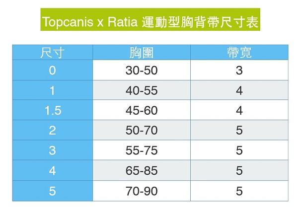 Topcanis-Ratia-harness-sizejpg